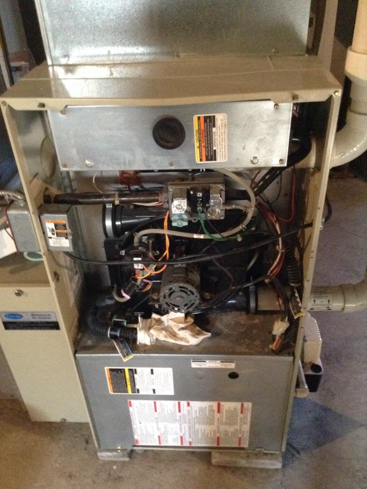 Ballston Spa, NY - Heating service/Furnace inspection.