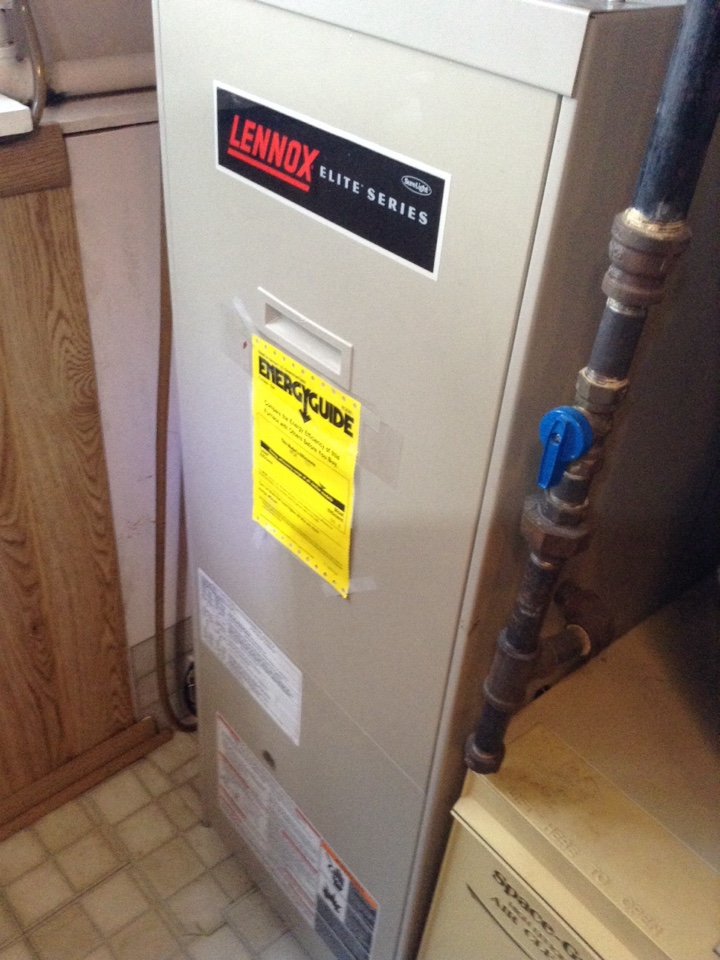 Saratoga Springs, NY - Heating service and repair on lennox Furnace