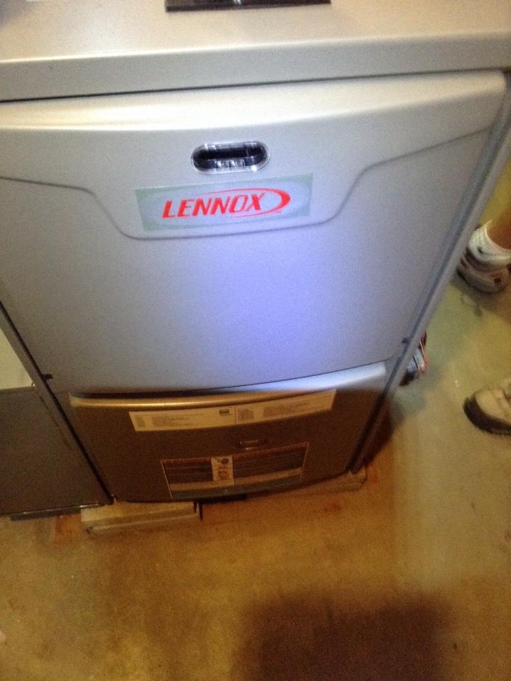 Scotia, NY - Furnace repair Lennox gas furnace