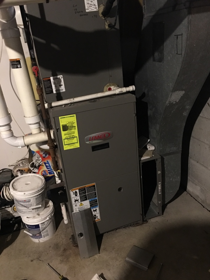 Fonda, NY - Furnace repair on Lennox gas finance