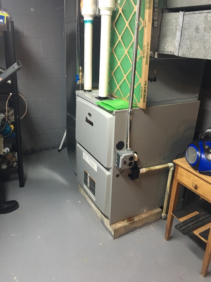 Wells, NY - Service Ducane LP gas furnace