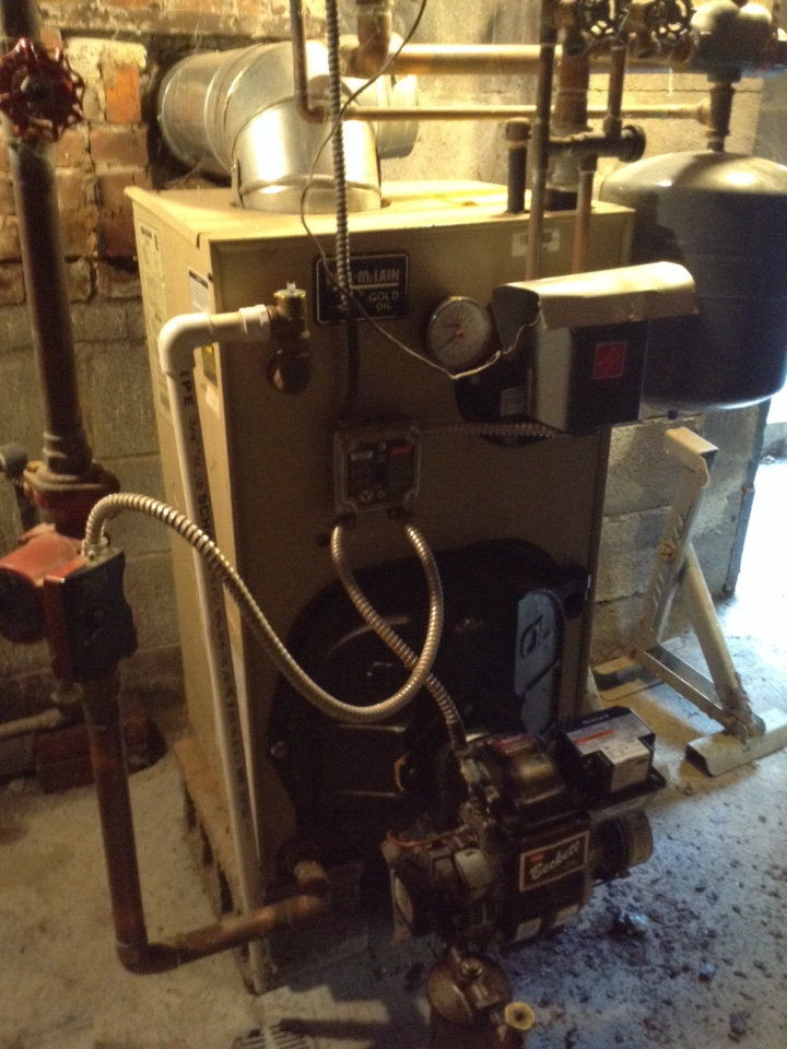 Glenmont, NY - Weil McLain boiler service indirect water heater install