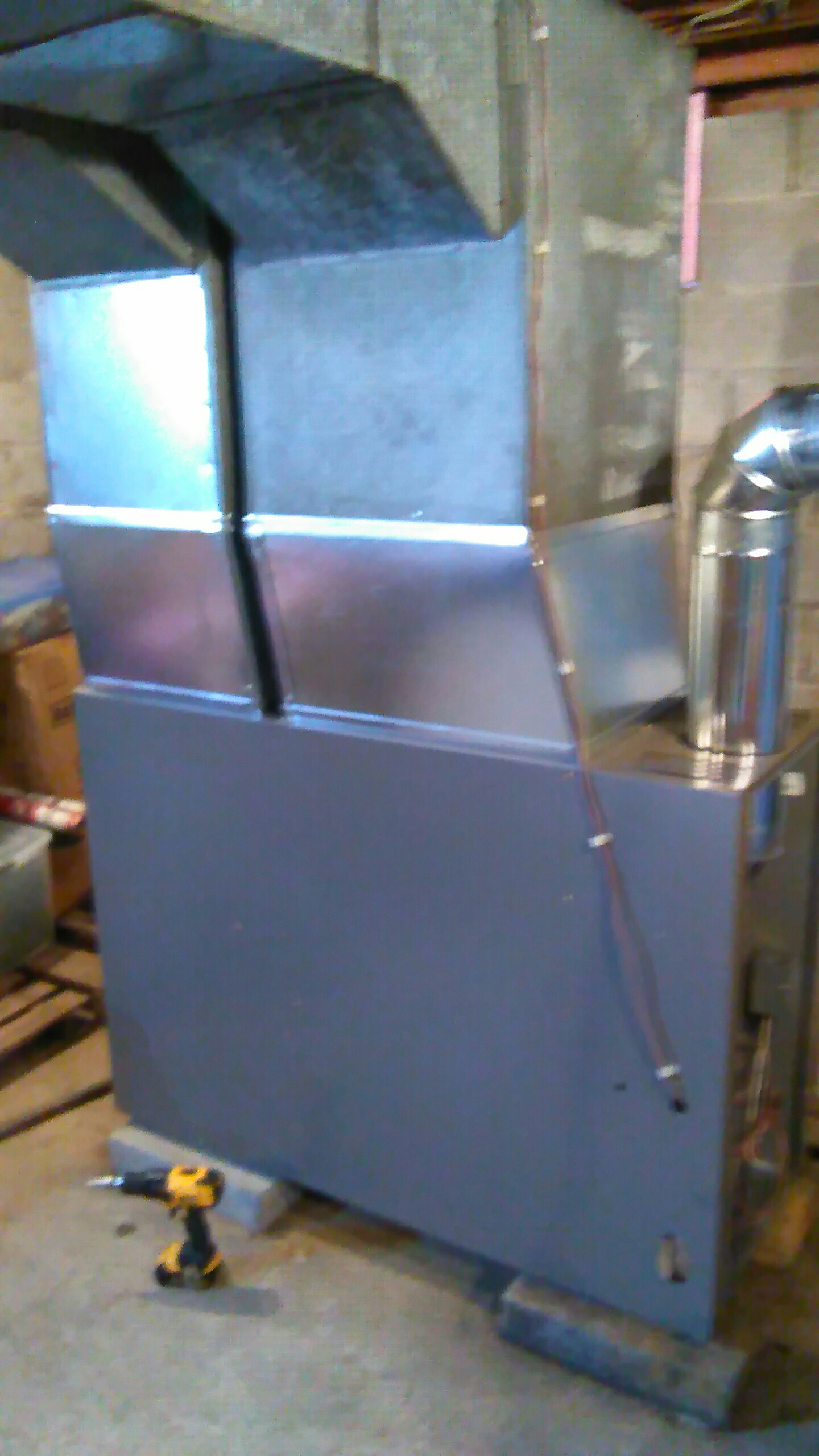 Amsterdam, NY - Installed Lennox elite 83 percent efficient oil furnace