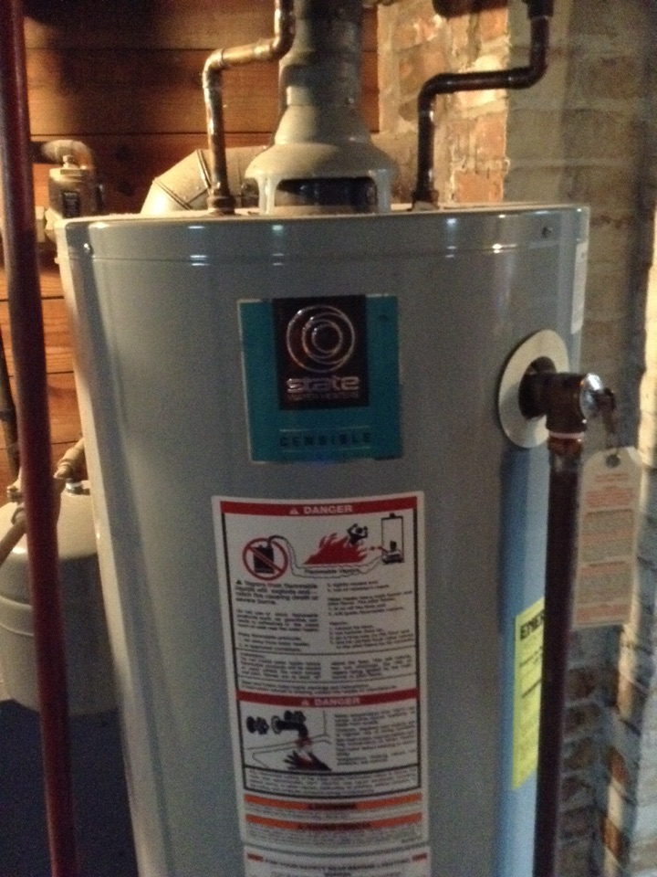 Johnstown, NY - Plumbing service 40 gallon water heater install