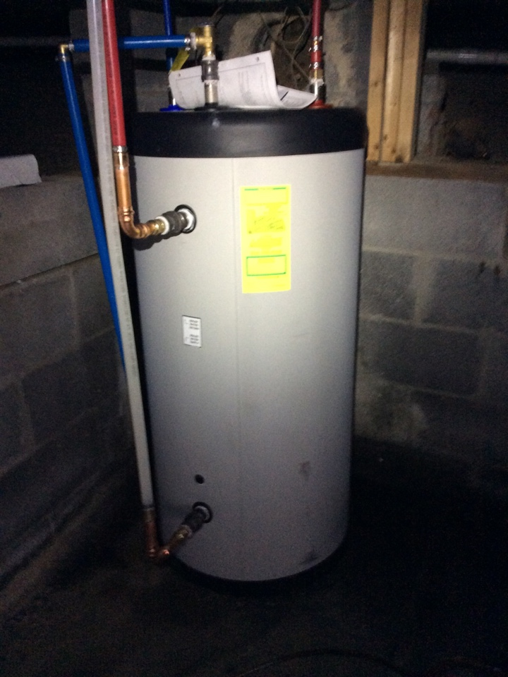 Glenmont, NY - triangle tube smart 40 indirect side arm water heater with circulator on weil mclain wtgo oil boiler