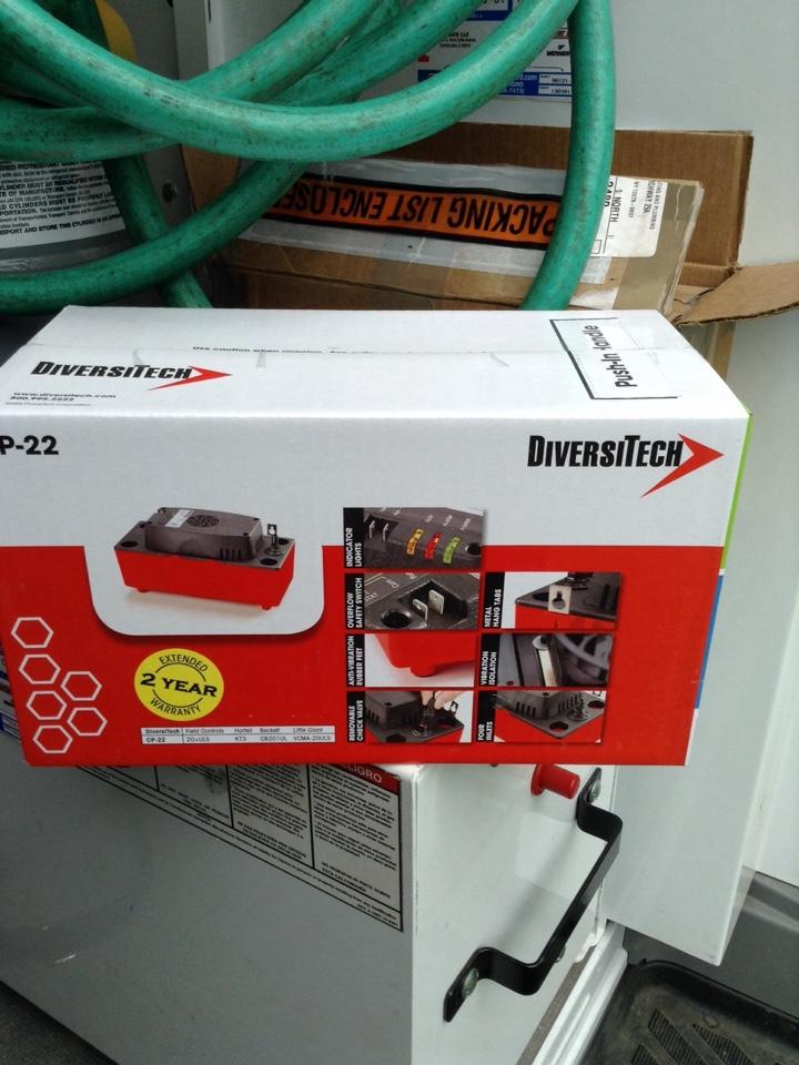 Saratoga Springs, NY - Heating service condensate pump repair
