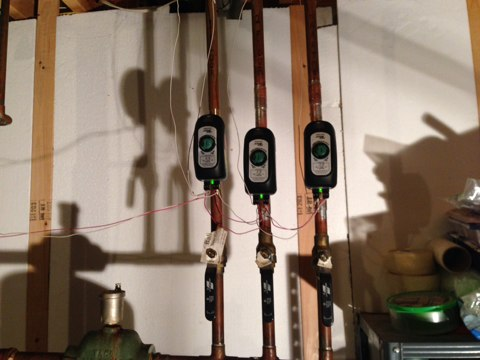 Galway, NY - Installation of 2 new taco zone valves
