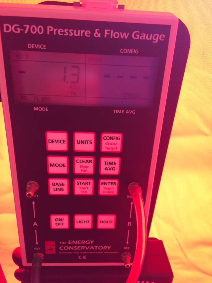 Saint Johnsville, NY - Nyserda home energy efficiency conservation of energy blower door test