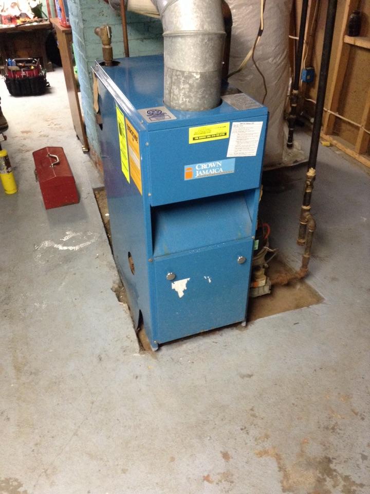 Amsterdam, NY - Heating service boiler relief valve repair