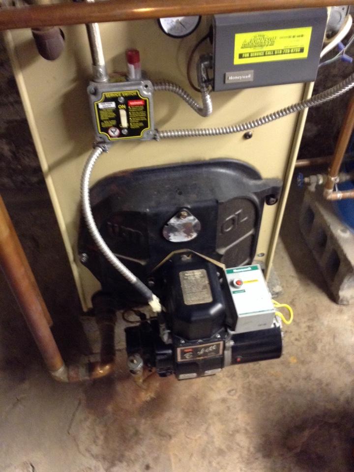 Cobleskill, NY - Heating service lennox oil boiler repair