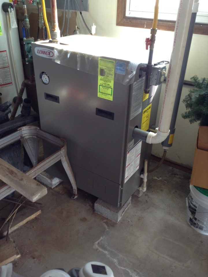 Amsterdam, NY - Heating service tune up Lennox boiler