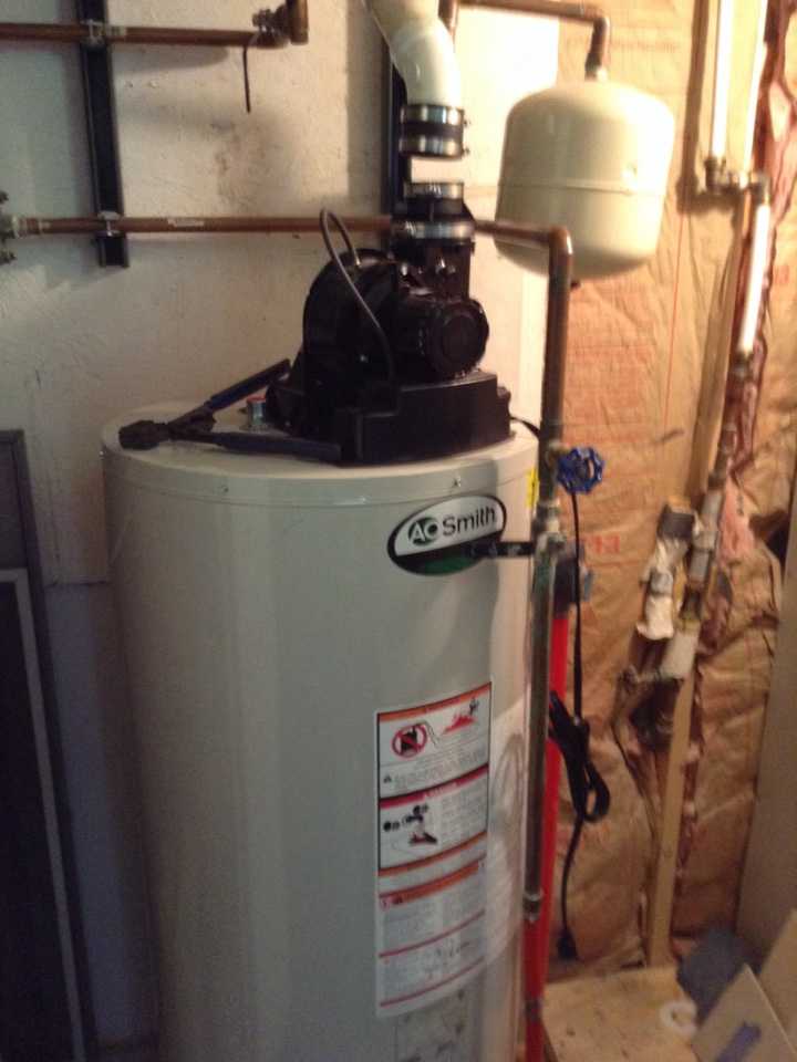 Ballston Spa, NY - Plumbing service No hot water/ Power vented water heater repair