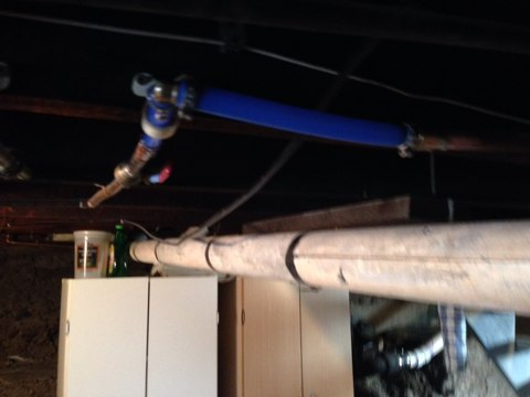 Watervliet, NY - Repair copper water line