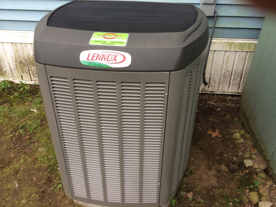 Middle Grove, NY - air conditioning repair with ac service and tune up on Lennox heat pump