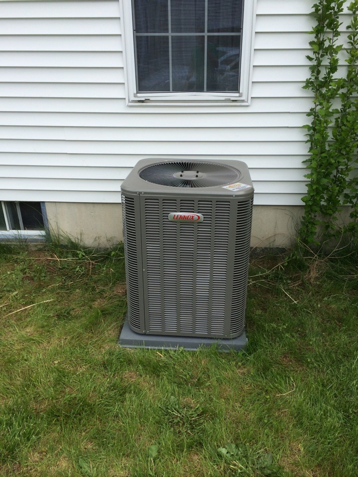 Cohoes, NY - Lennox air conditioning install