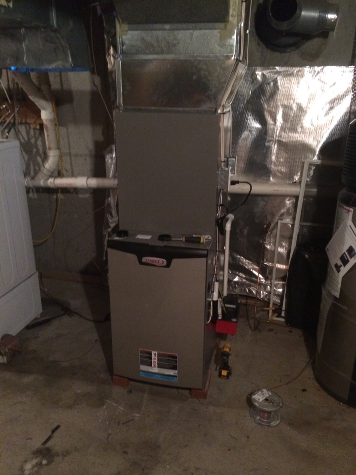 Guilderland, NY - Replaced trance oil furnace with Lennox slp98