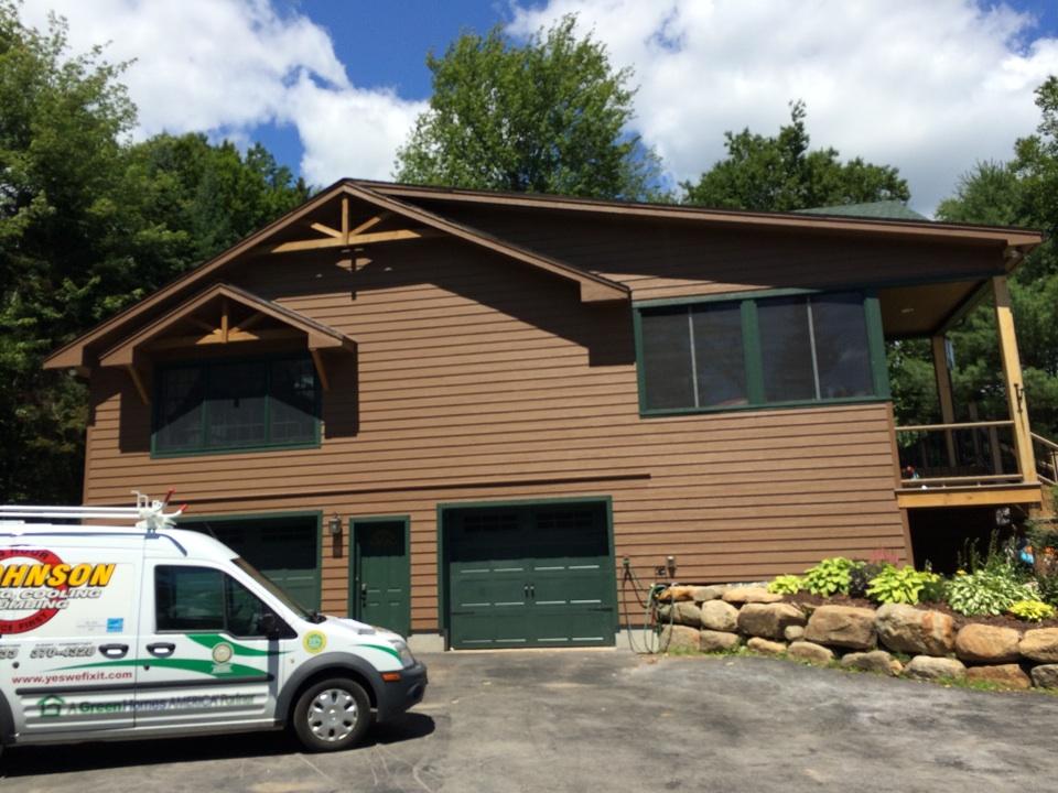Lake Pleasant, NY - Home energy audit