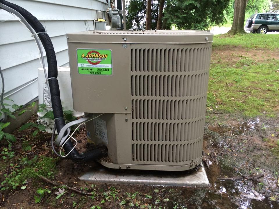 Colonie, NY - Goodman air conditioner repair AC service AC repair