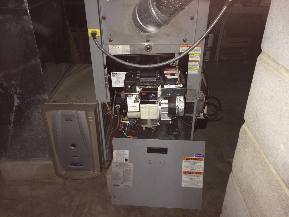 Delanson, NY - Carrier oil furnace repair