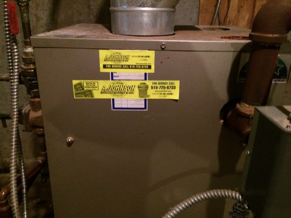 Fultonville, NY - Carrier oil boiler repair