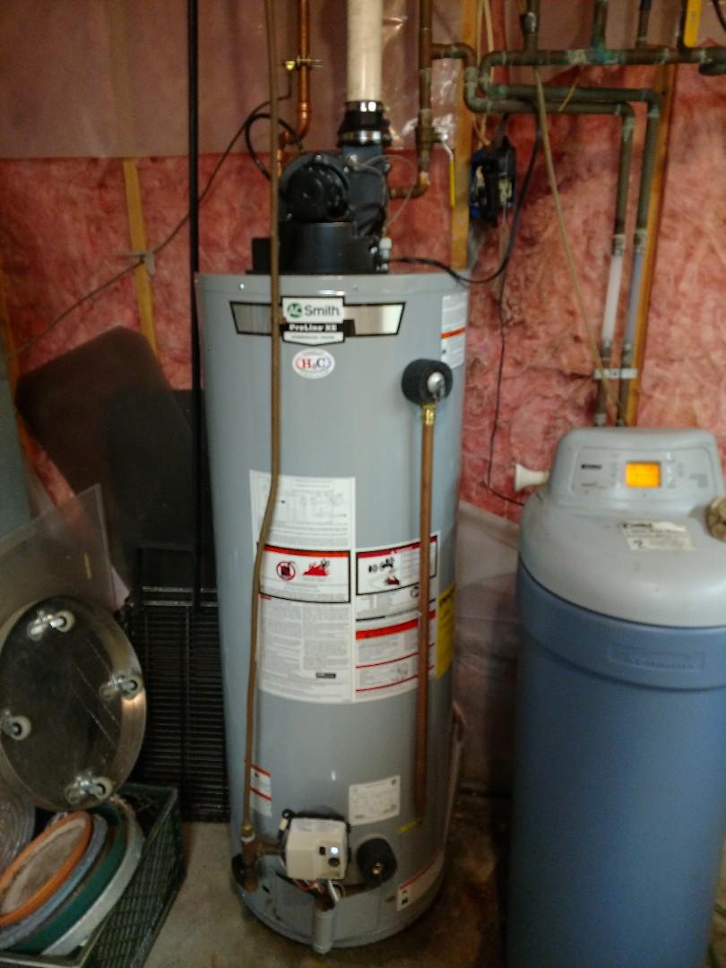 Burnsville, MN - Burnsville. New water heater install