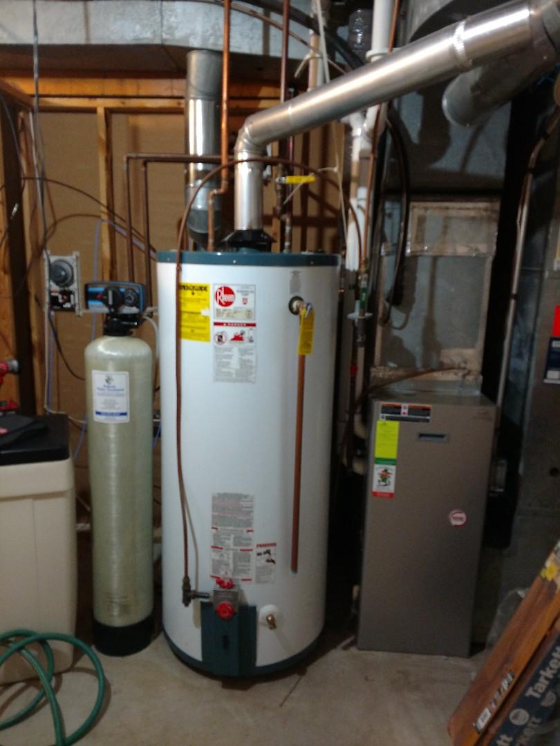 Woodbury, MN - New water heater install