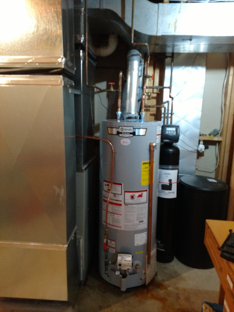 New water heater install