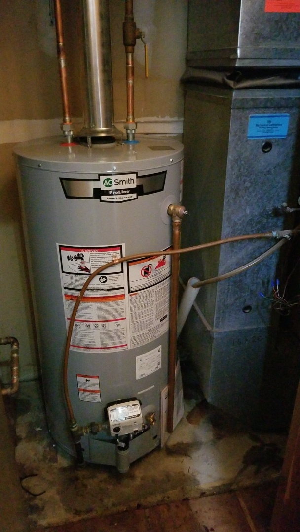 Savage, MN - New water heater install in Savage