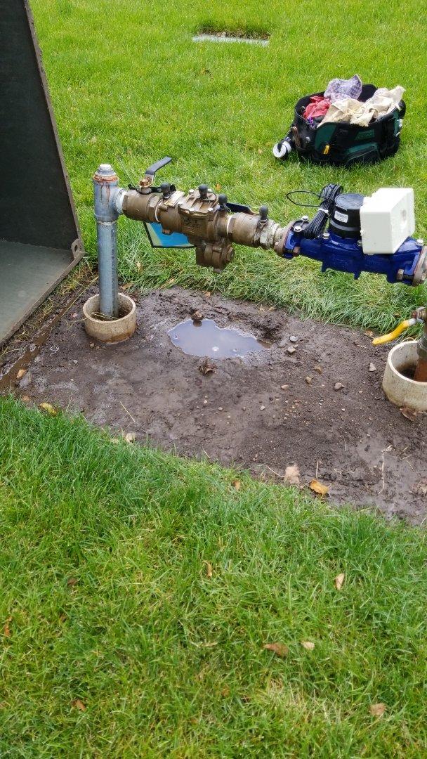 Burnsville, MN - Complete rebuilding and testing an RPZ for an irrigation system in Burnsville