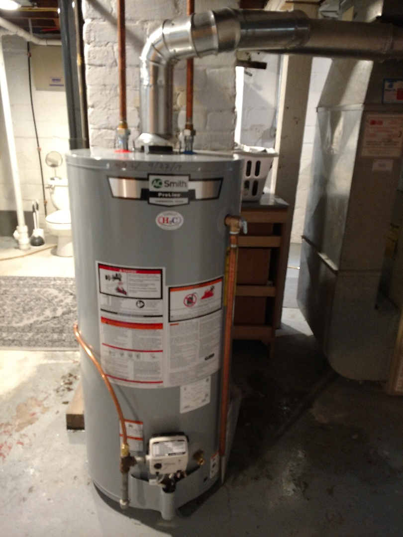 Minneapolis, MN - Minneapolis. New water heater install