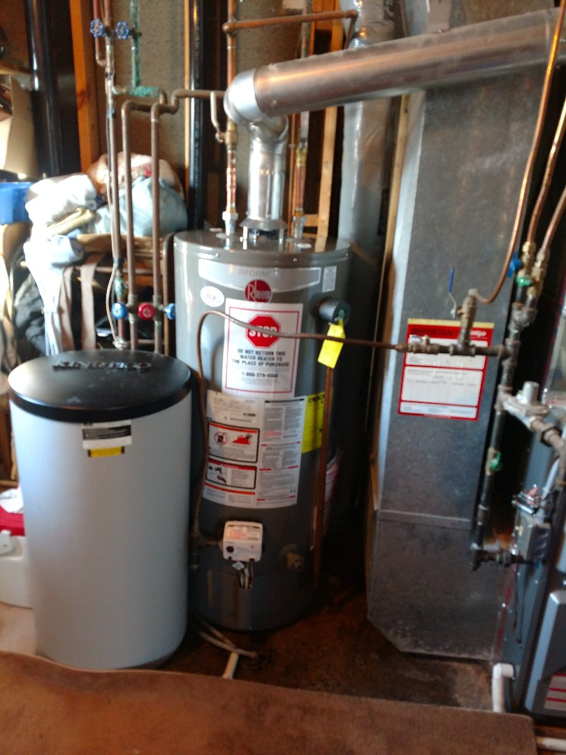 Savage, MN - Savage. Water heater installed.