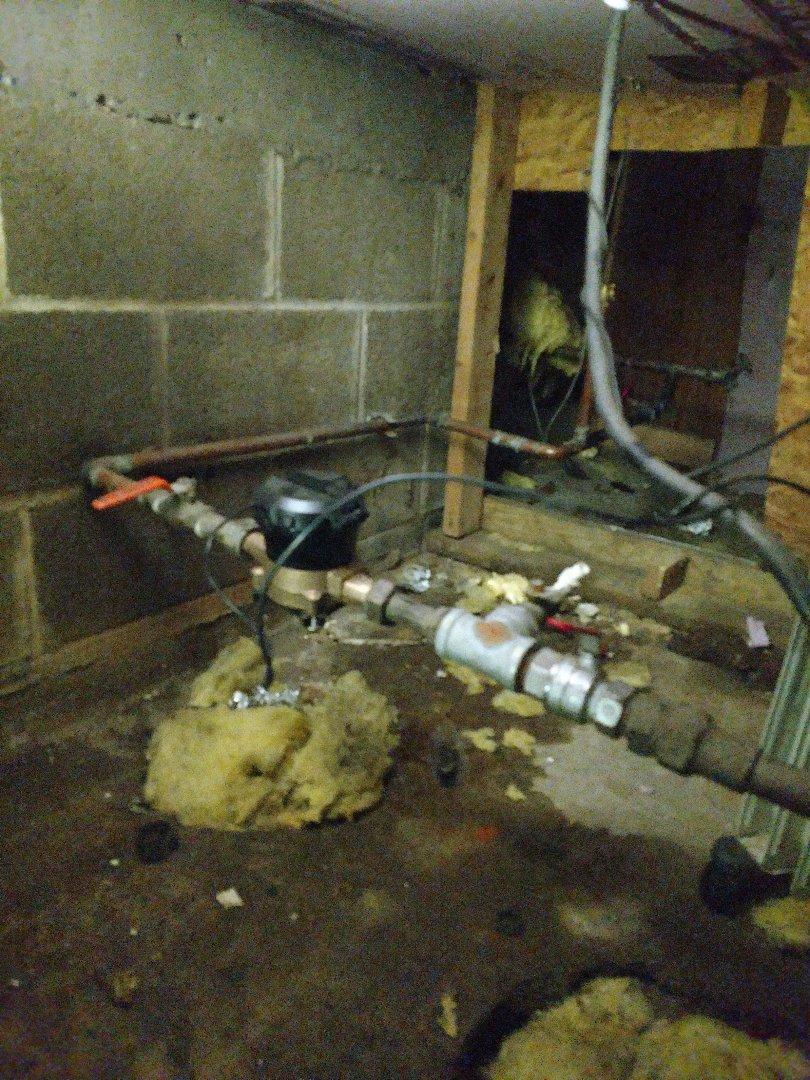 Roseville, MN - Roseville. Water meter repair.