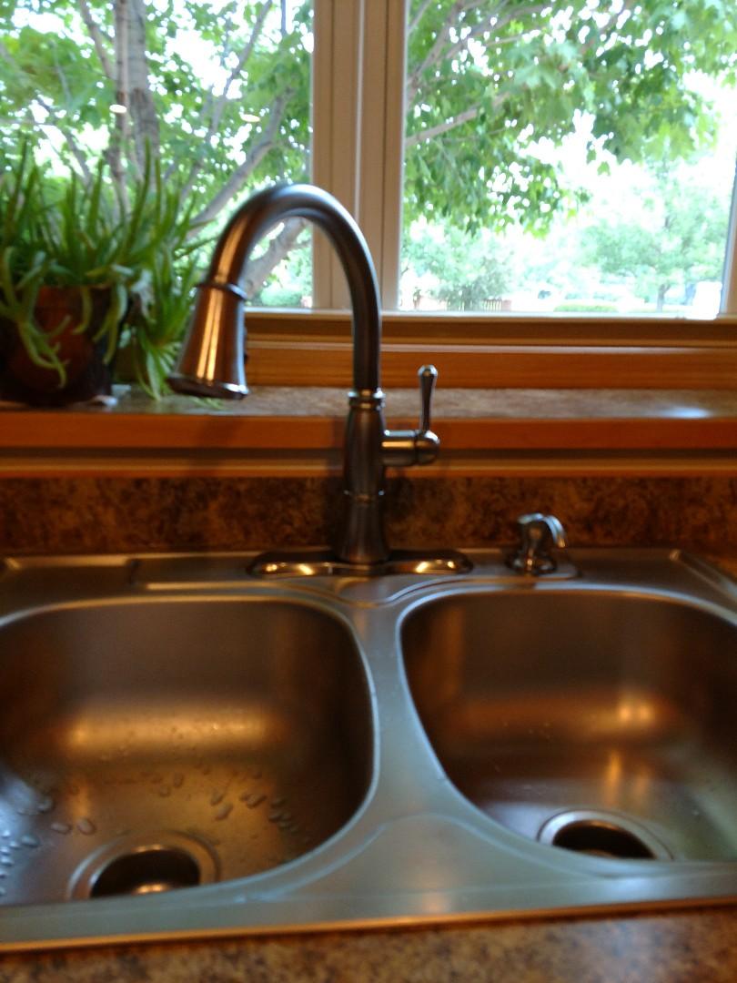 Eden Prairie, MN - New kitchen faucet