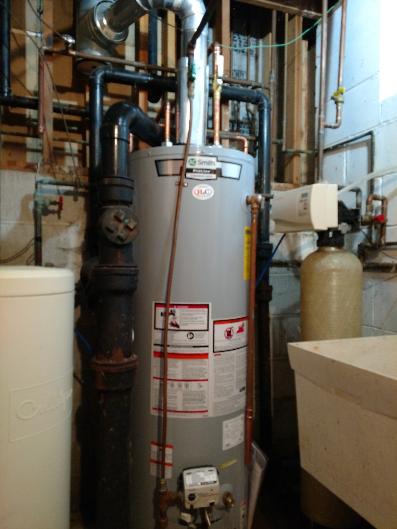 Eagan, MN - New water heater