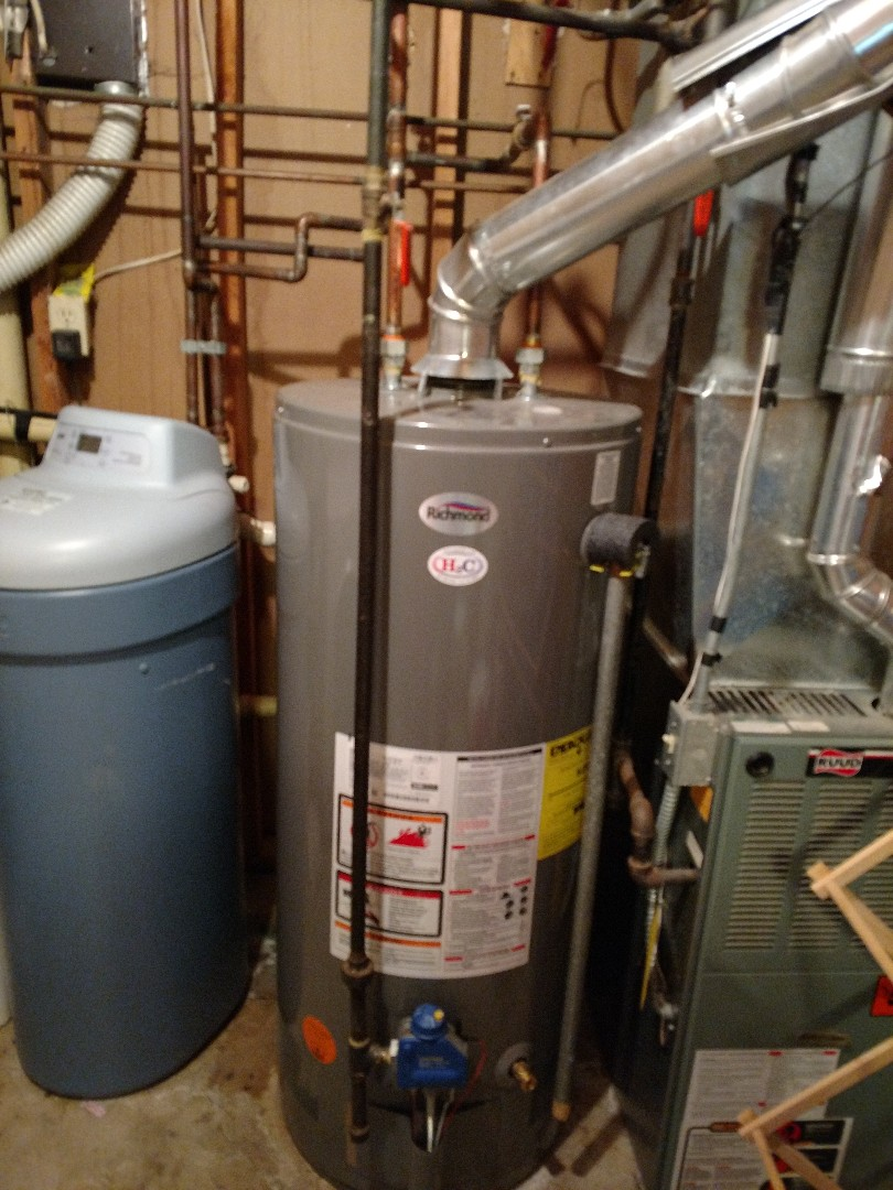 Brooklyn Center, MN - Water heater