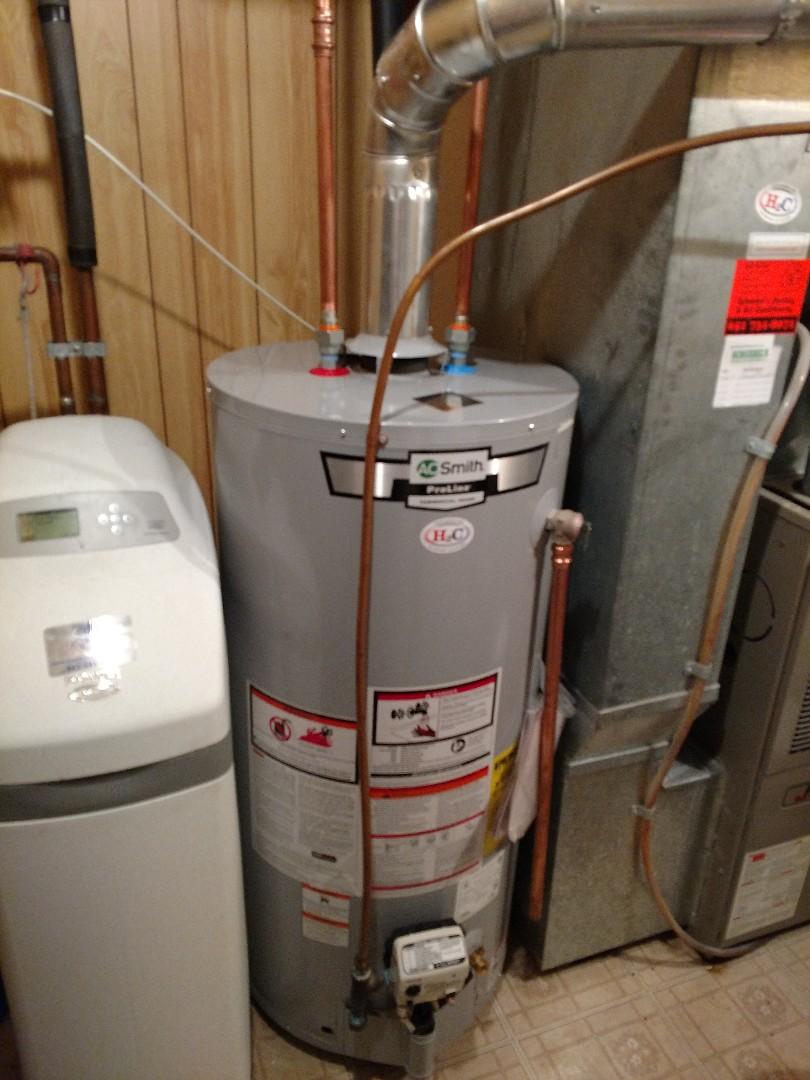 Burnsville, MN - New water heater install