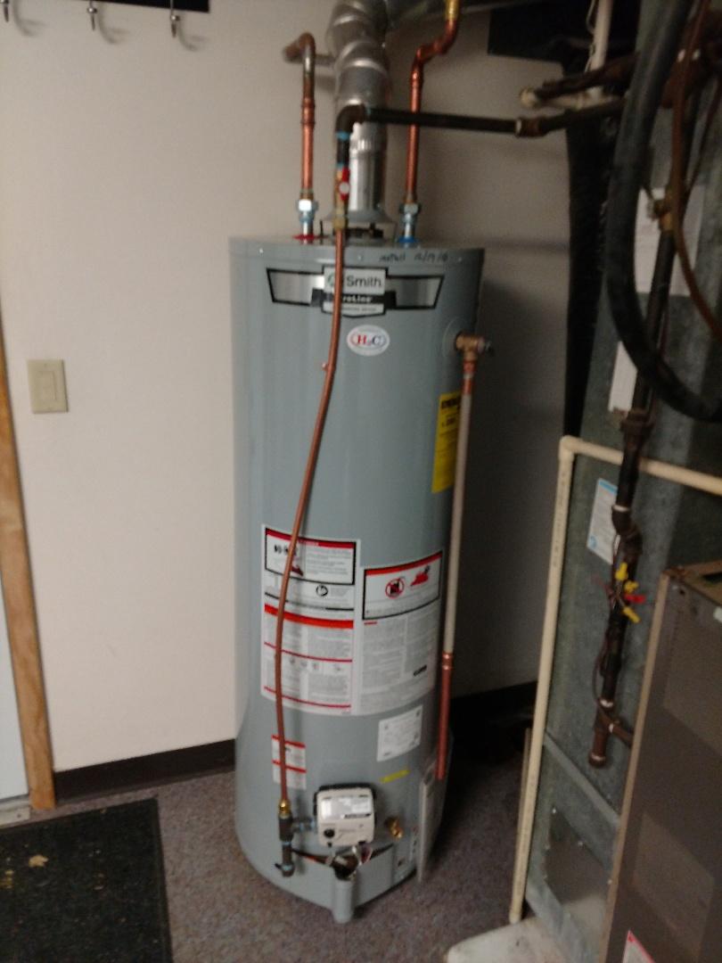 Wayzata, MN - Water heater install
