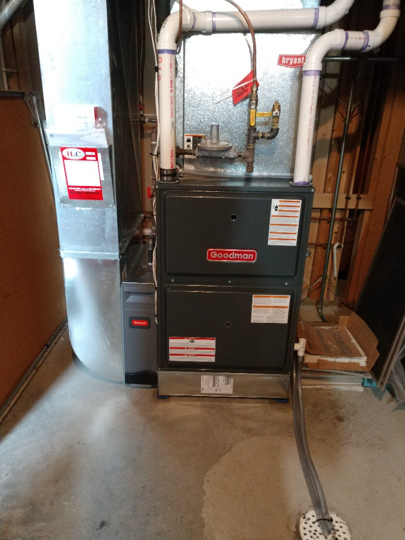 Saint Paul, MN - New furnace install in St. Paul.