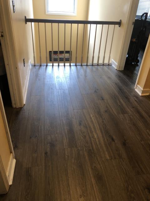 Charlotte, NC - Vinyl Plank Flooring installation for a beautiful family in the University area!