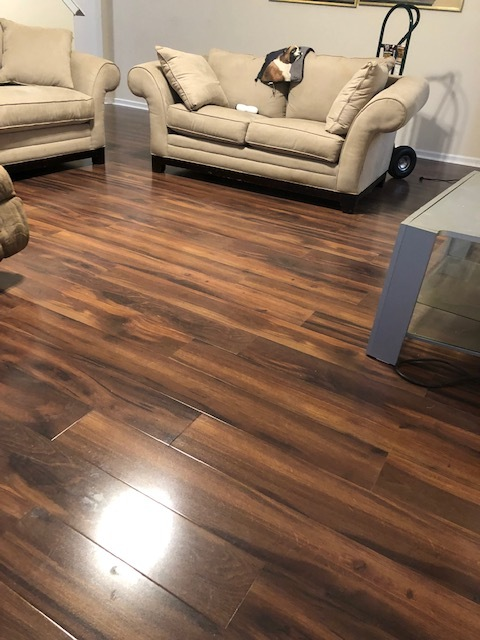 Charlotte, NC - Laminate installation in the Hickory Grove area!