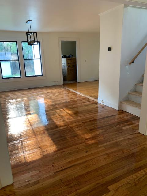 Concord, NC - Hardwood flooring sand and refinish for an awesome real estate investor in Concord, NC!
