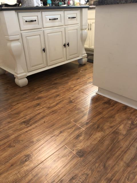 Charlotte, NC - Laminate installation for a great family in the Hickory Grove/Pence Rd area!