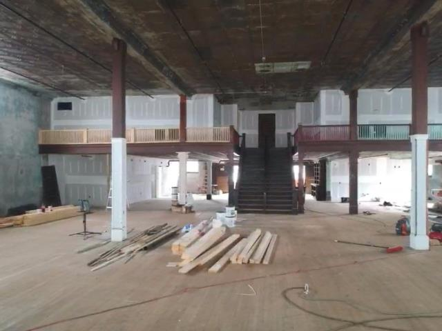 Lawndale, NC - Have the privilege of working on in the Historic Stamey Event Center in the Cherryville area. Doing the maple hardwood floor installation now and will return in a few weeks to do the sand and refinish! This place is going to be really nice!!