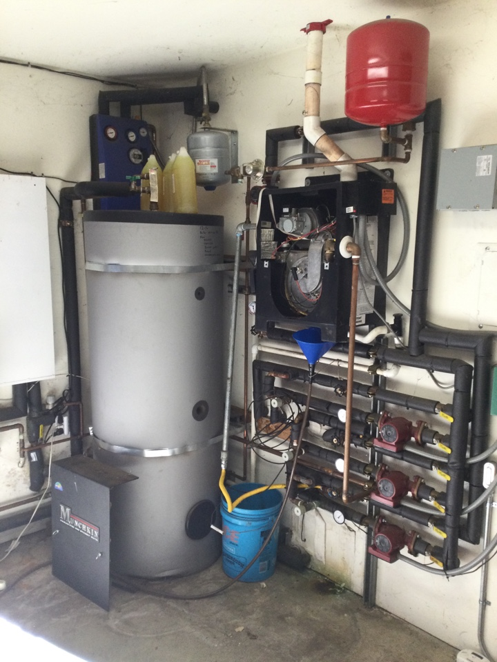 Provided an estimate to replace a boiler.