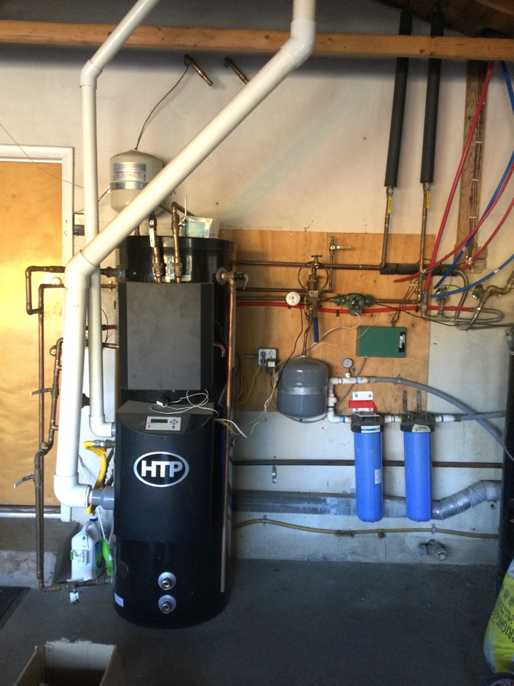 Inspected solar hot water heating system