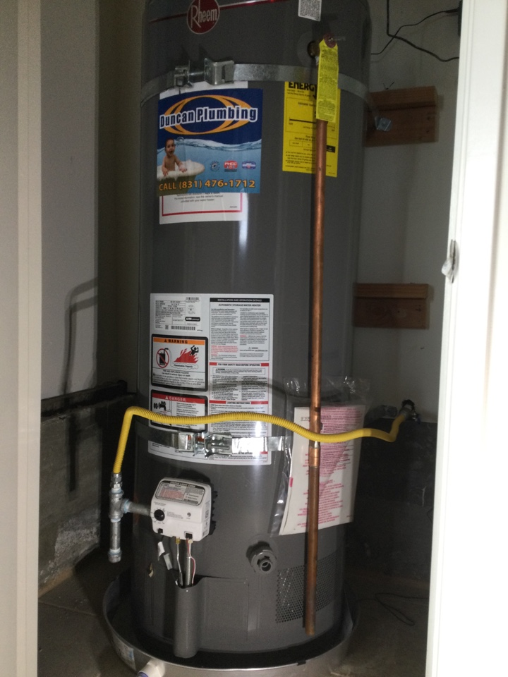Santa Cruz, CA - Repaired plumbing system to prepare for the sale of the home.