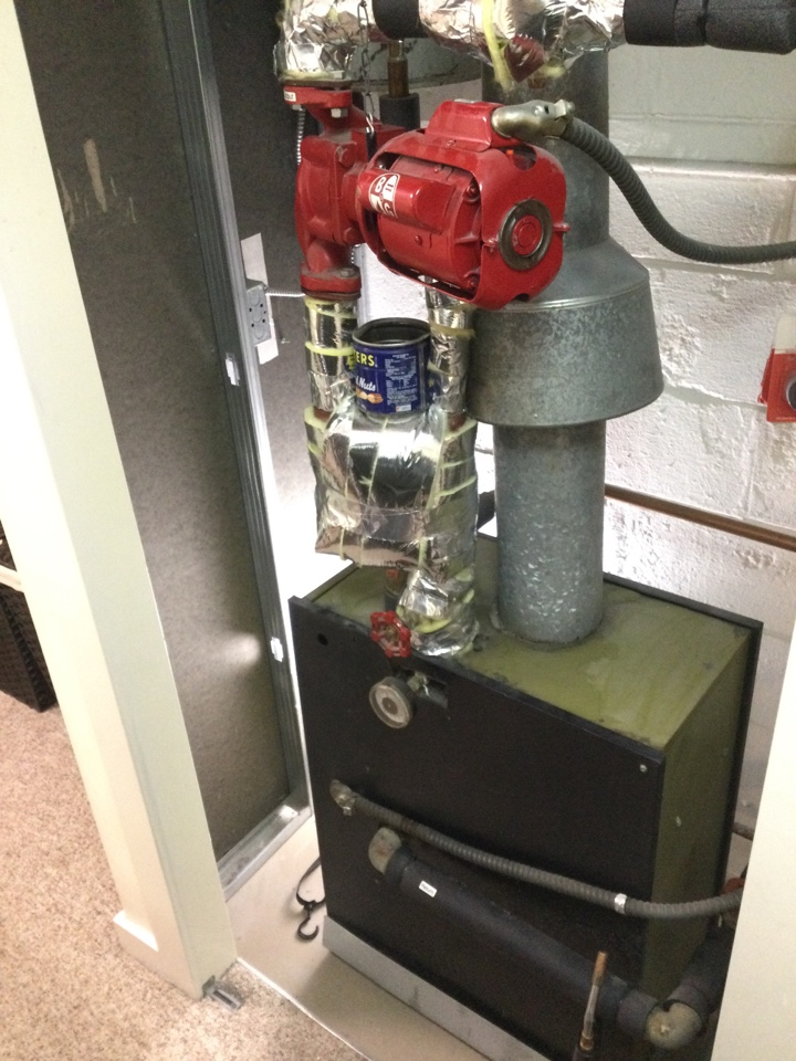 Los Gatos, CA - Performed hydronic heating inspection.