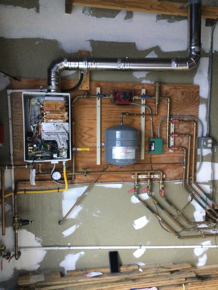 Santa Cruz, CA - Performed tankless water heater diagnostic service..