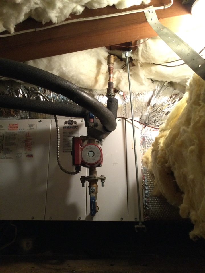 Aptos, CA - Repaired non working heating system and a running toilet.