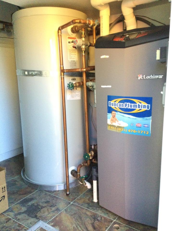 Santa Cruz, CA - Adjusted boiler gas valve.